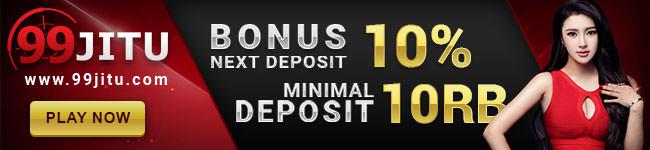 Bonus Next Deposit 10%